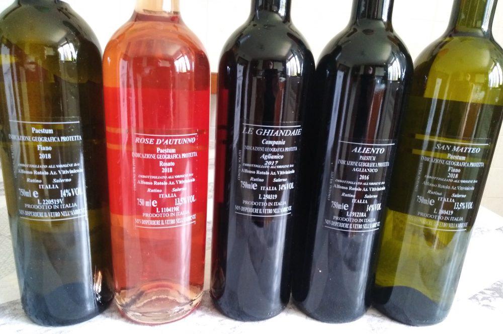 Controetichette vini di Rotolo