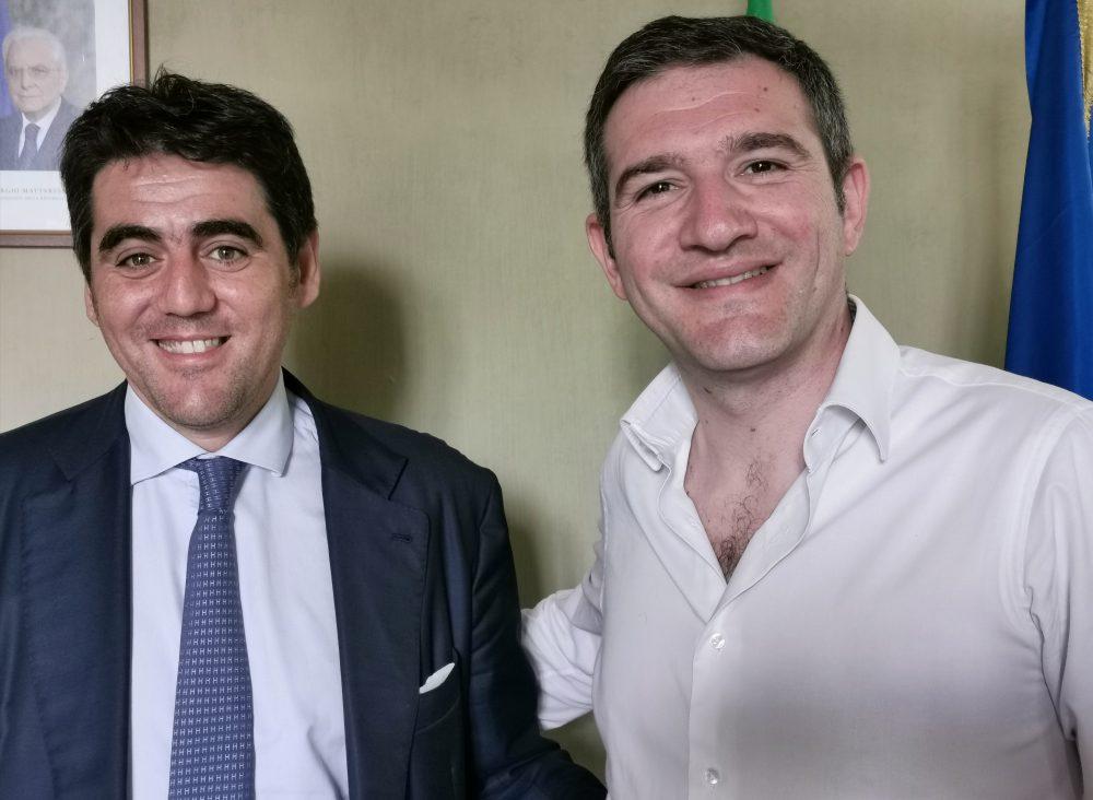 Francesco Carbone e Agostino Casillo