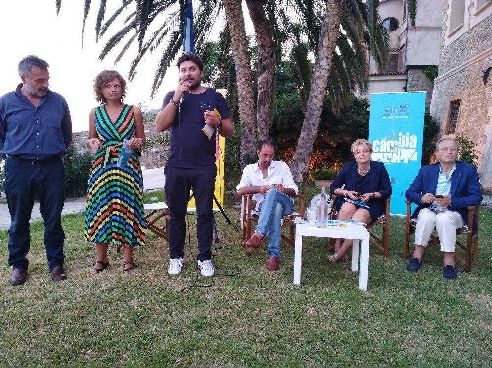 Inaugurazione del quarto Festival della Dieta Mediterranea Alcuni relatori