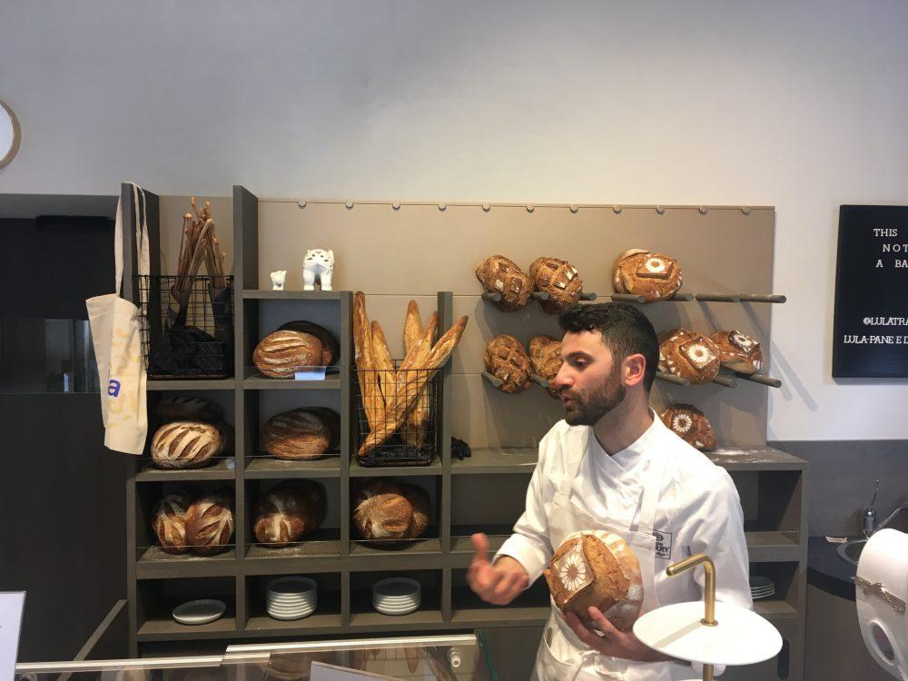 Lula, Luca davanti al pane
