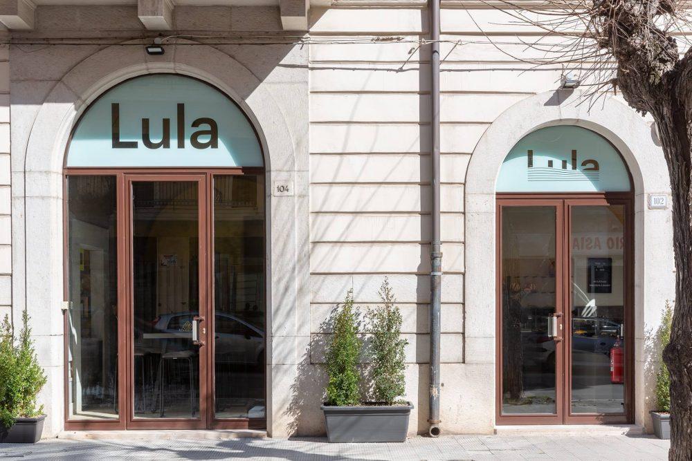 Lula, esterno del negozio