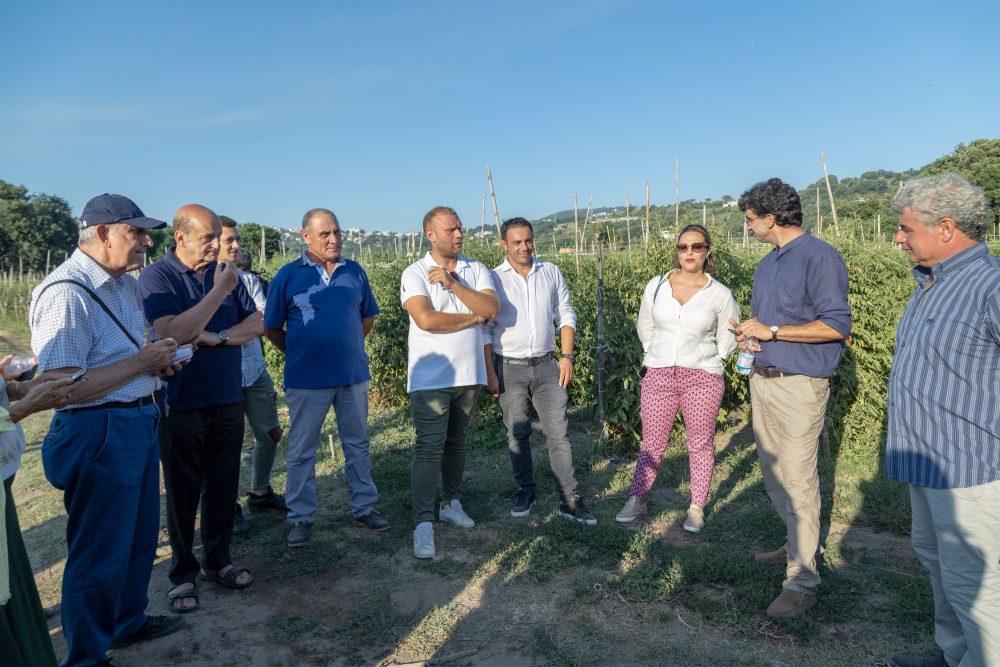 NeI Campi con Soci associazione e Direttore Parco Archeologico Campi Flegrei