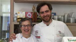 Pasta e... a Sant'Agata dei due golfi, Mario Pollio con la mamma Patrizia