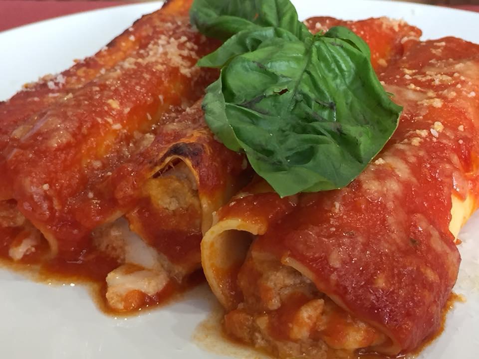 Pasta e... a Sant'Agata dei due golfi, i cannelloni della signora Patrizia