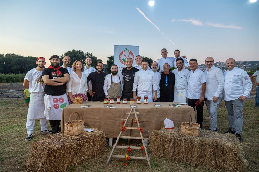 Pizzaioli e Chef all'evento