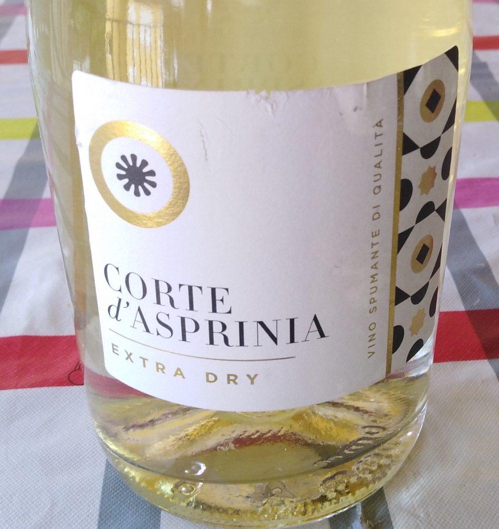Spumante Corte D Asprinia Extra Dry Azienda Bonaparte