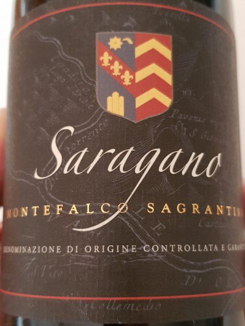 Tenuta di Saragano – Sagrantino di Montefalco DOCG 2012