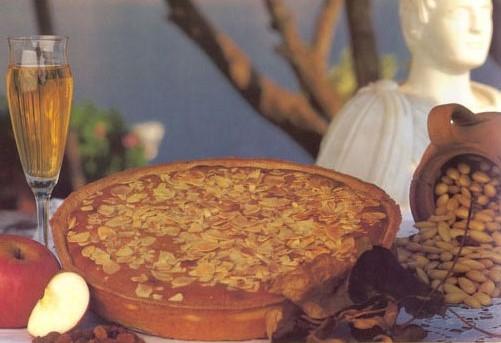 Frangipane alle mandorle e marmellata extra di limone costa d'Amalfi igp di Sal de Riso