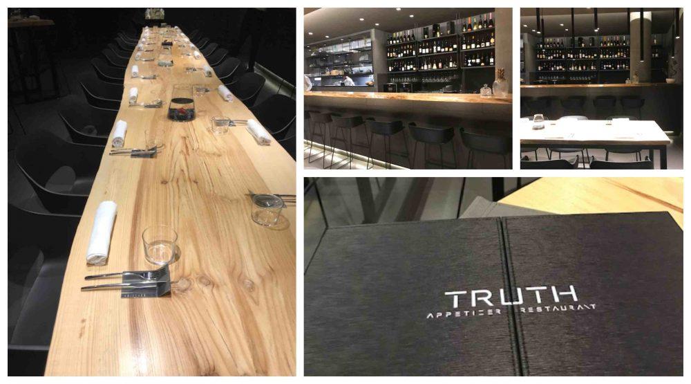 Truth Appetizer Restaurant, ambienti