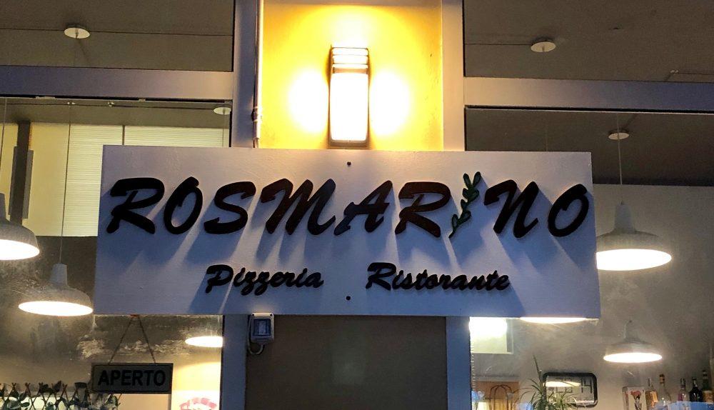 Ristorante Rosmarino - Insegna