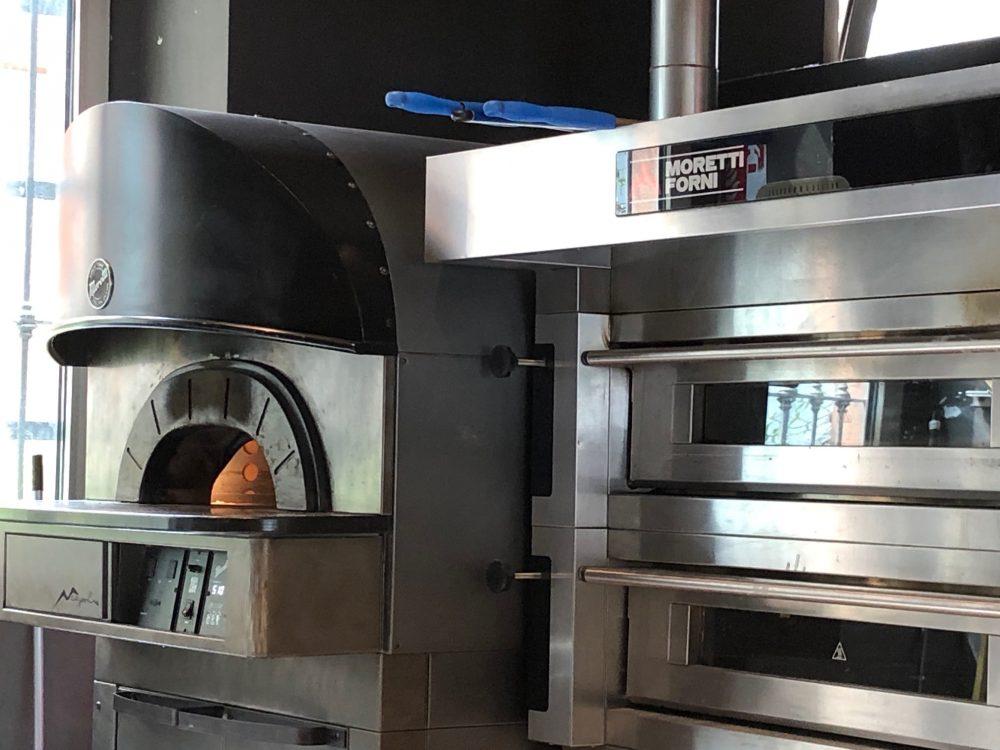 Cocciuto, La zona forno