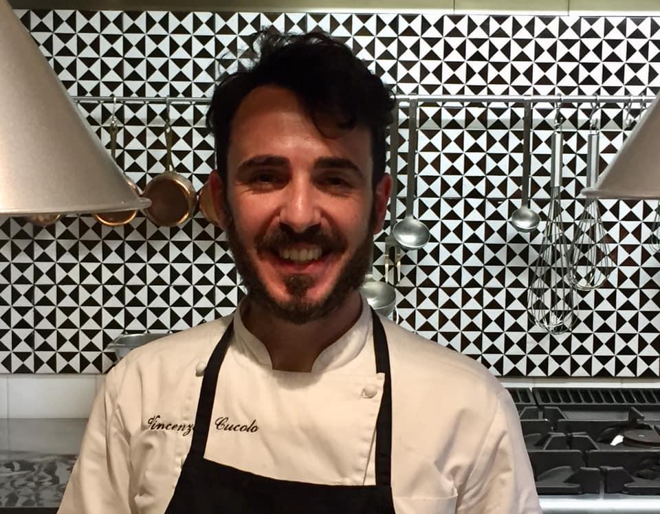 Aquadulcis, lo chef Vincenzo Cucolo