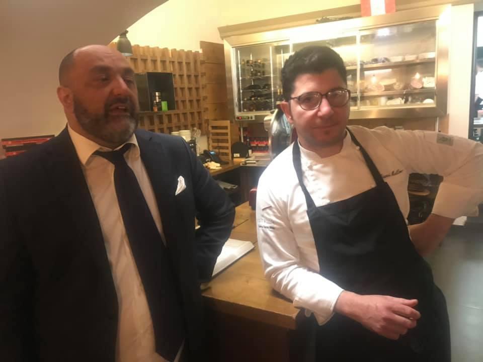 Ciccio Costantino e Gianni Mellone