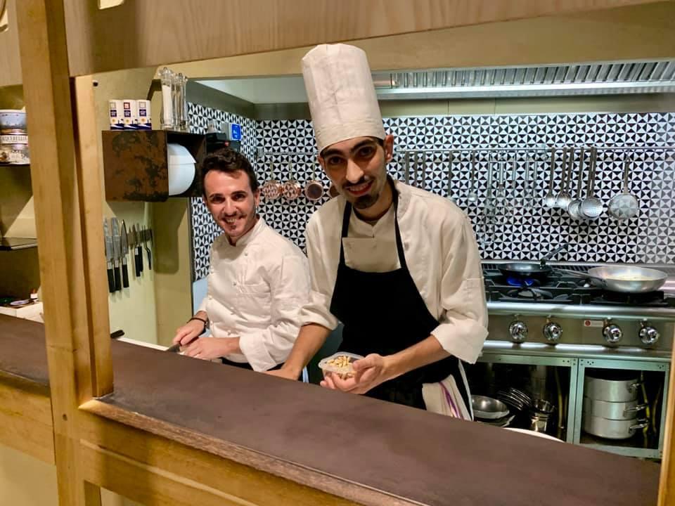 Lo chef Vincenzo Cucolo