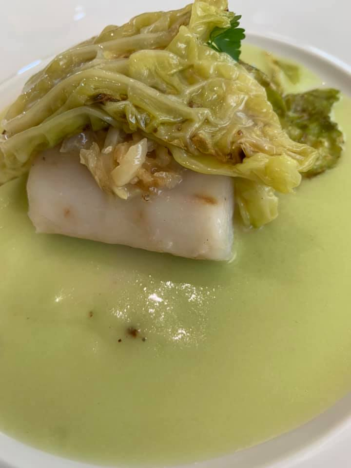 Ristorante Marotta - Antipasto - merluzzo e verza