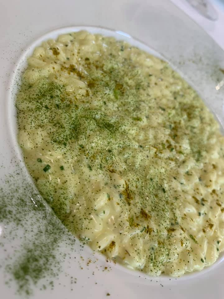 Ristorante Marotta - Risotto, Caprino, Curry Verde e Lime