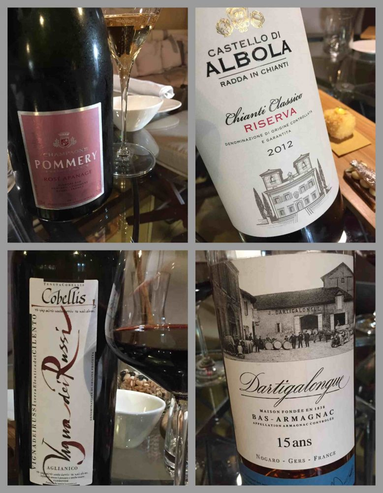 Aquadulcis, i vini