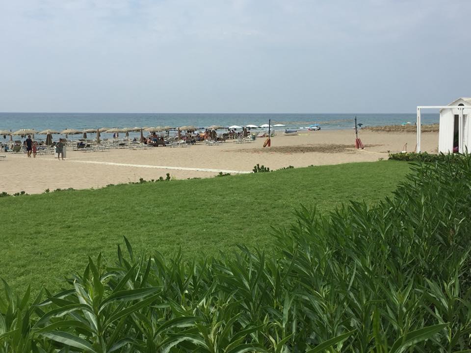 Oleandri Beach Club, la spiaggia