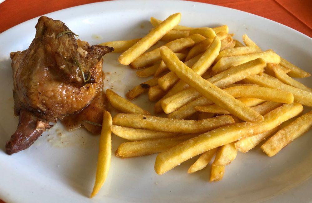 Ristorante Dei Mille - Pollo con patate