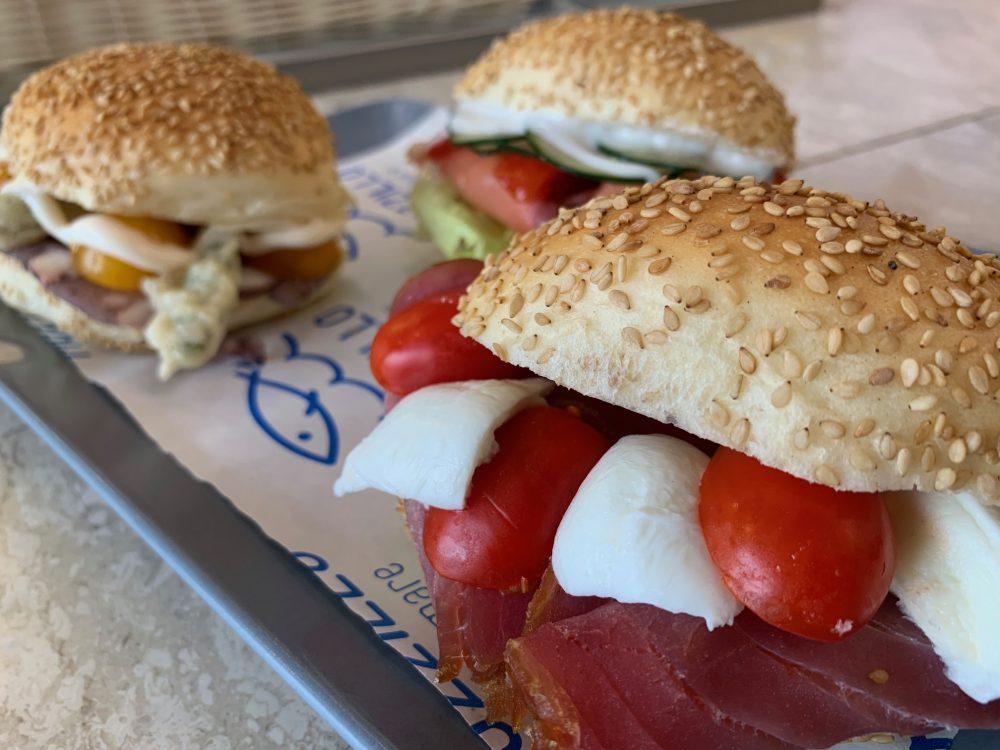 Mozzillo pane & Mare - tris di panini