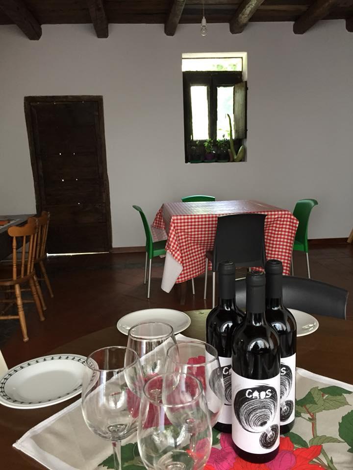 La Cantina a Gioi, saletta degustazione