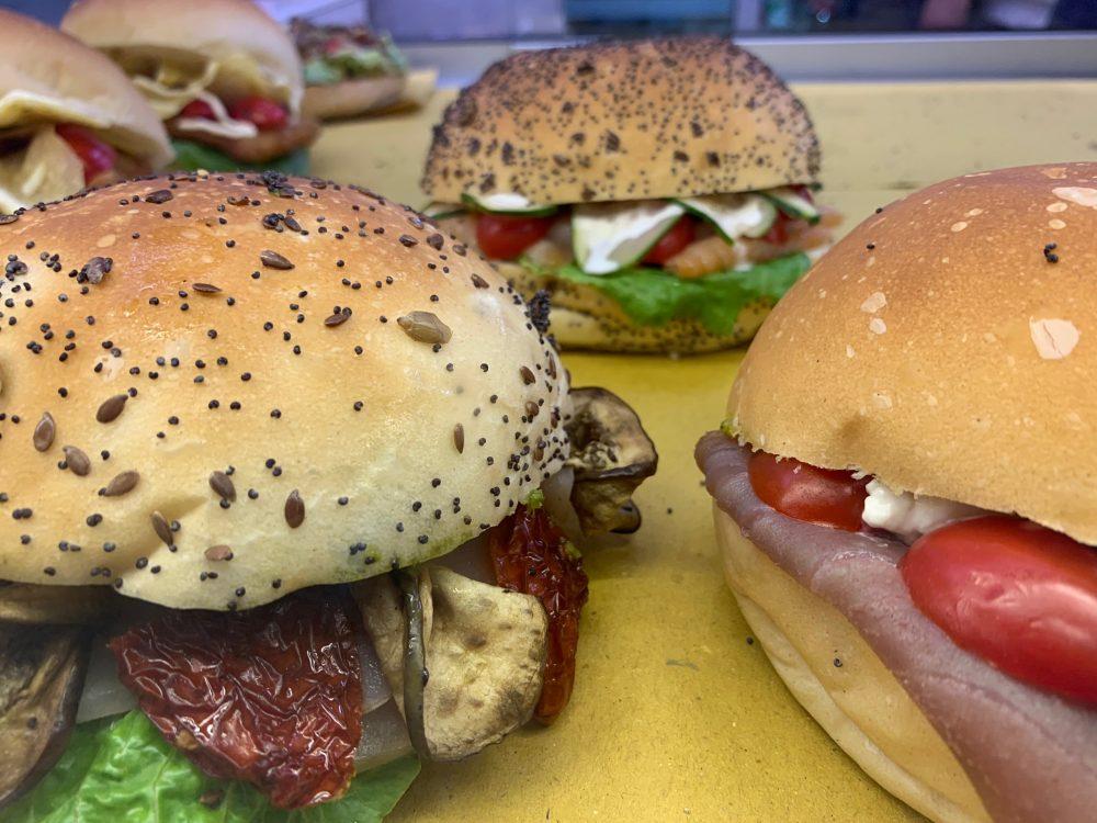 Mozzillo pane & Mare - panino al tonno