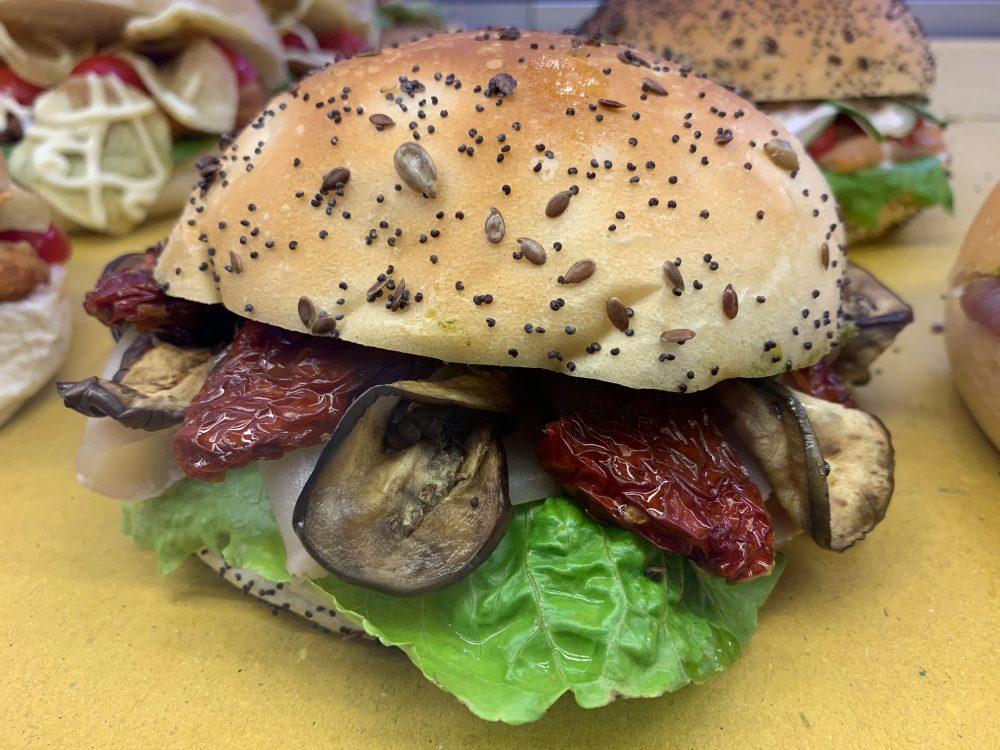 Mozzillo pane & Mare - panino con pesce spada