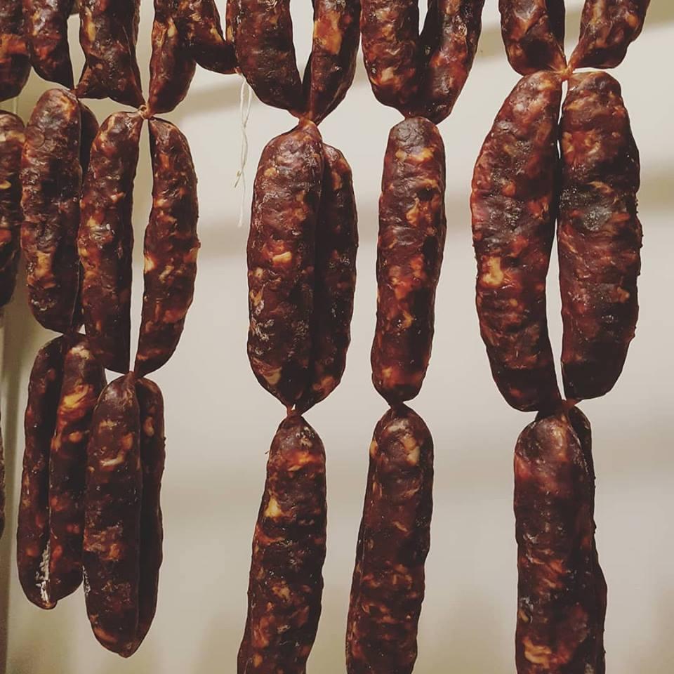 Agrimar - Salsiccia a catena di Cancellara stagionata