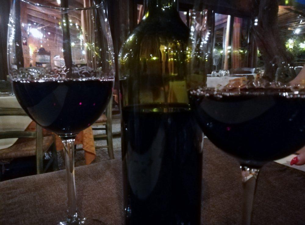 Antico Pozzo degli Ulivi - il vino