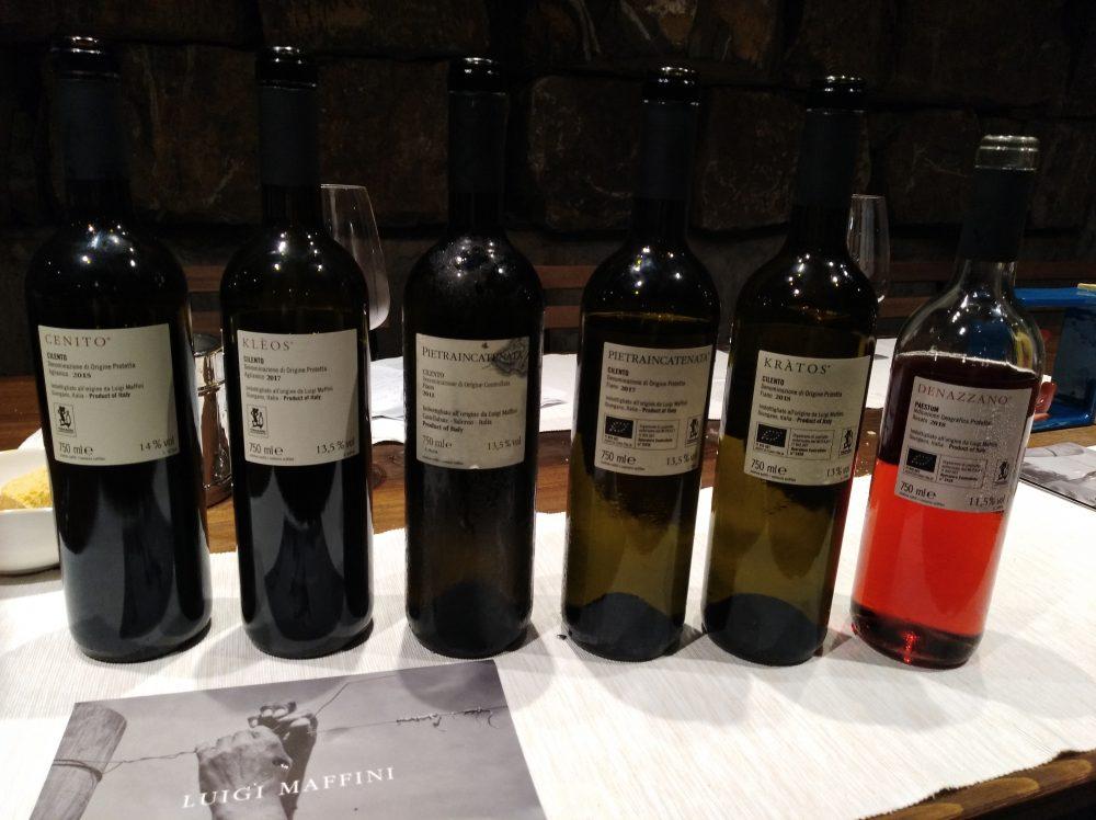 Azienda vinicola Luigi Maffini Controetichette vini deguistati