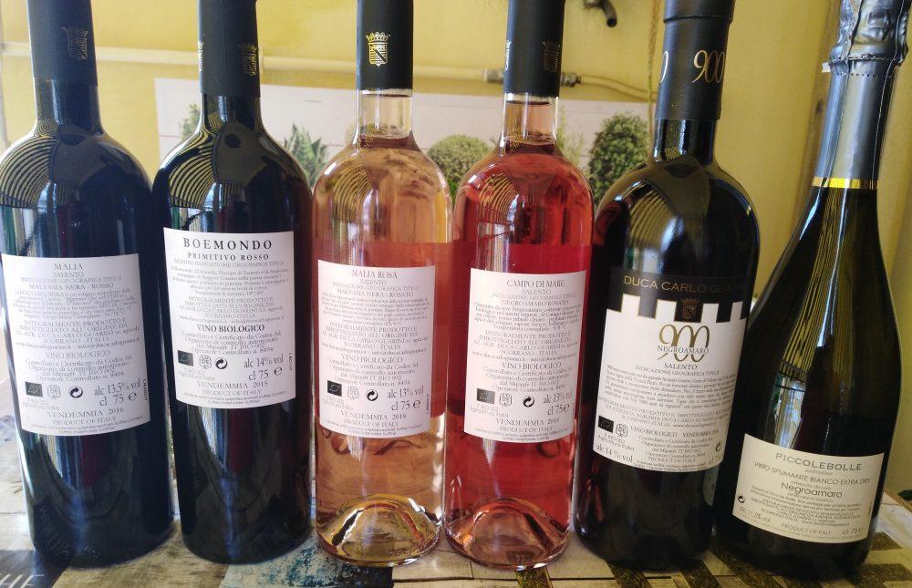 Controerichette vini di Duca Carlo Guarini