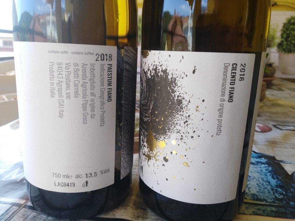 Controetichette vini di Pippo Greco