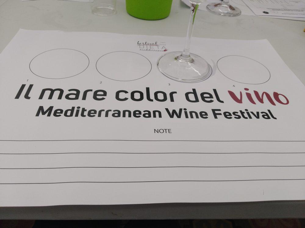 Degustazione dei vini di Terroir Il Mare Color del Vino a Pioppi