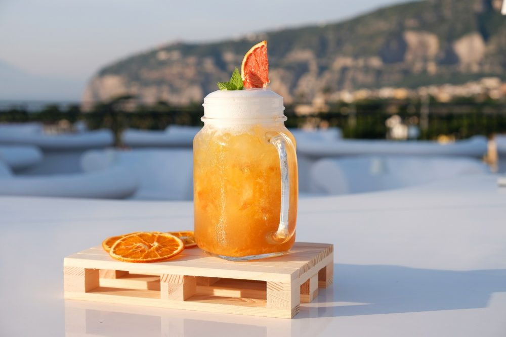 Drink Wild wild breakfastdi Lucio D'Orsi, bar manager del Dry Martini Bar dell'Hotel Majestic Palace di Sorrento