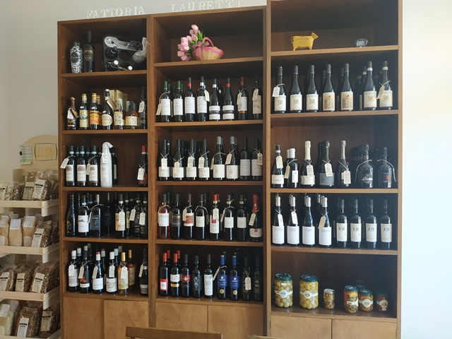 Fattoria Lauretti - la selezione dei vini locali in Macelleria