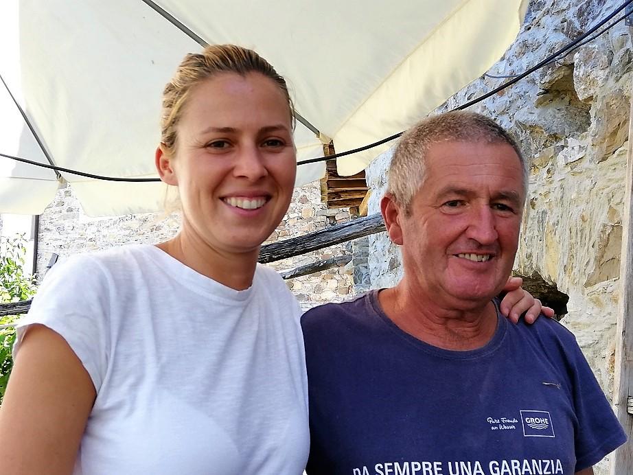 Francesca e papa' Mario