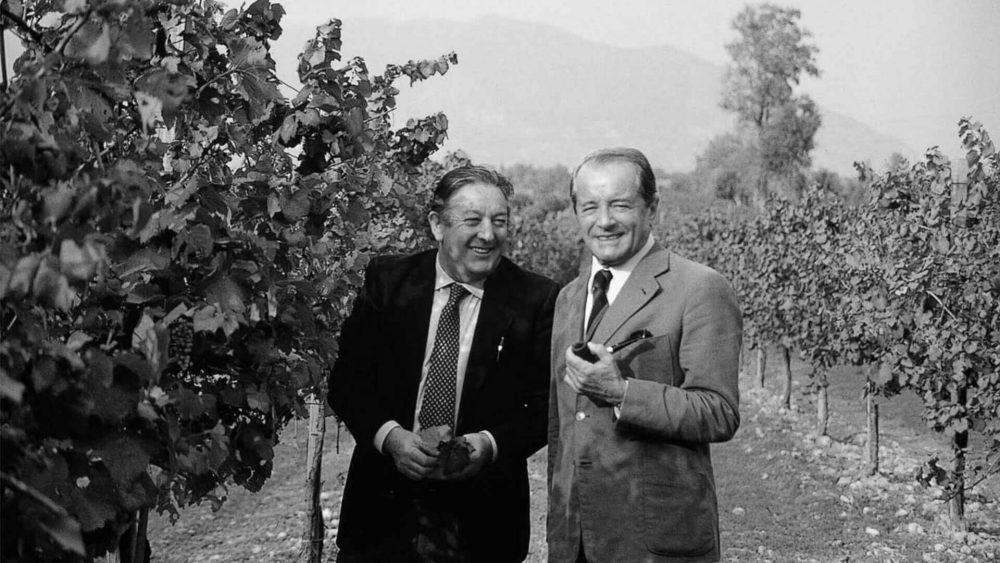 Guido Berlucchi e Franco Ziliani