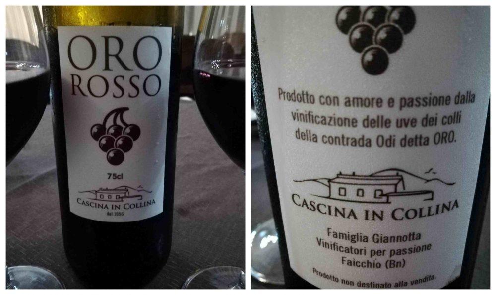 La Cascina in Collina - Il vino della casa