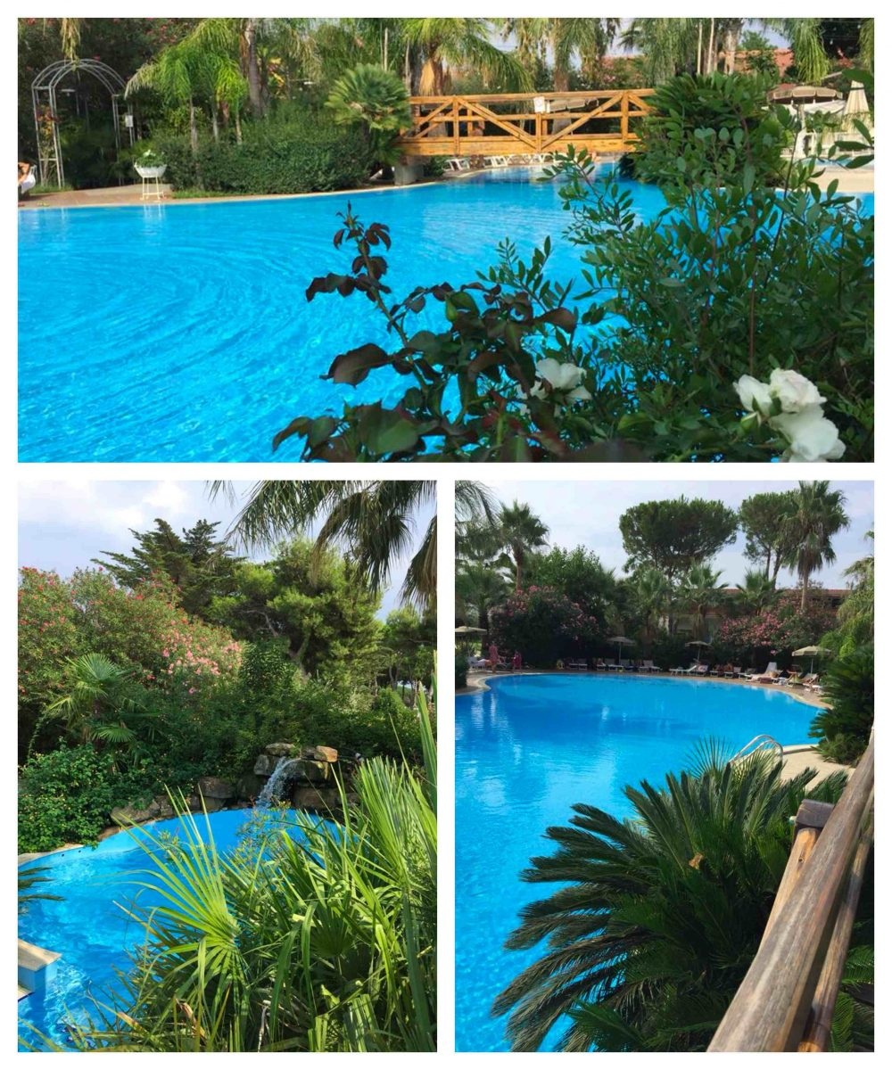 Oleandri Beach Club, la piscina