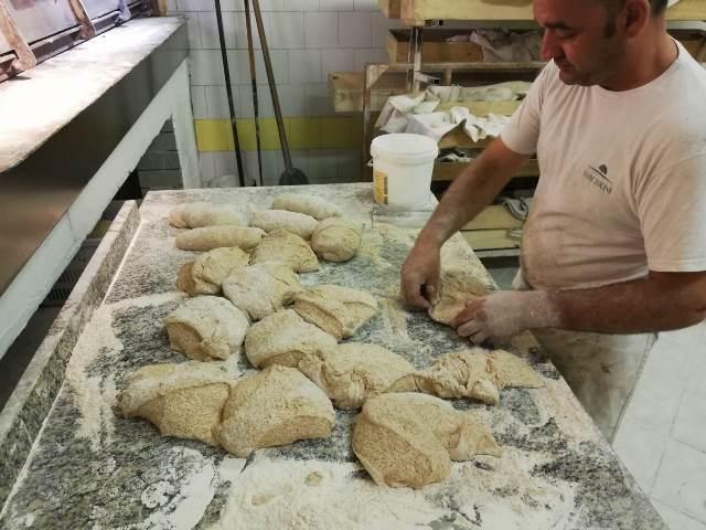 Panificio Cristofaro - Produzione del pane