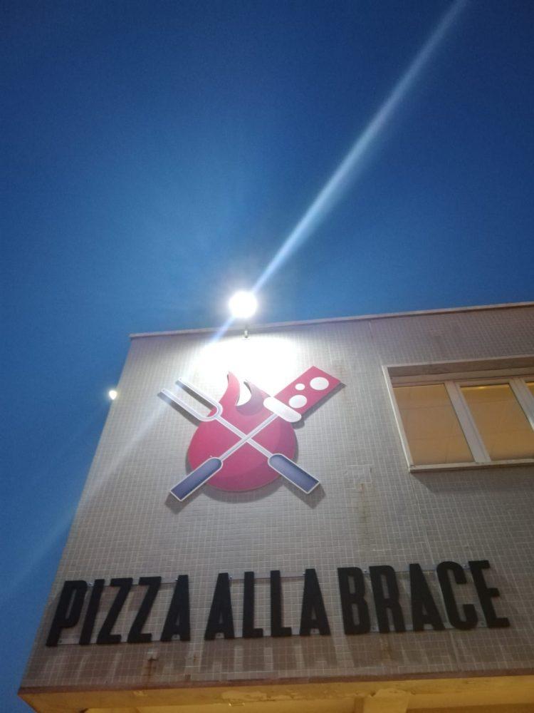 Pizza alla Brace - l'insegna