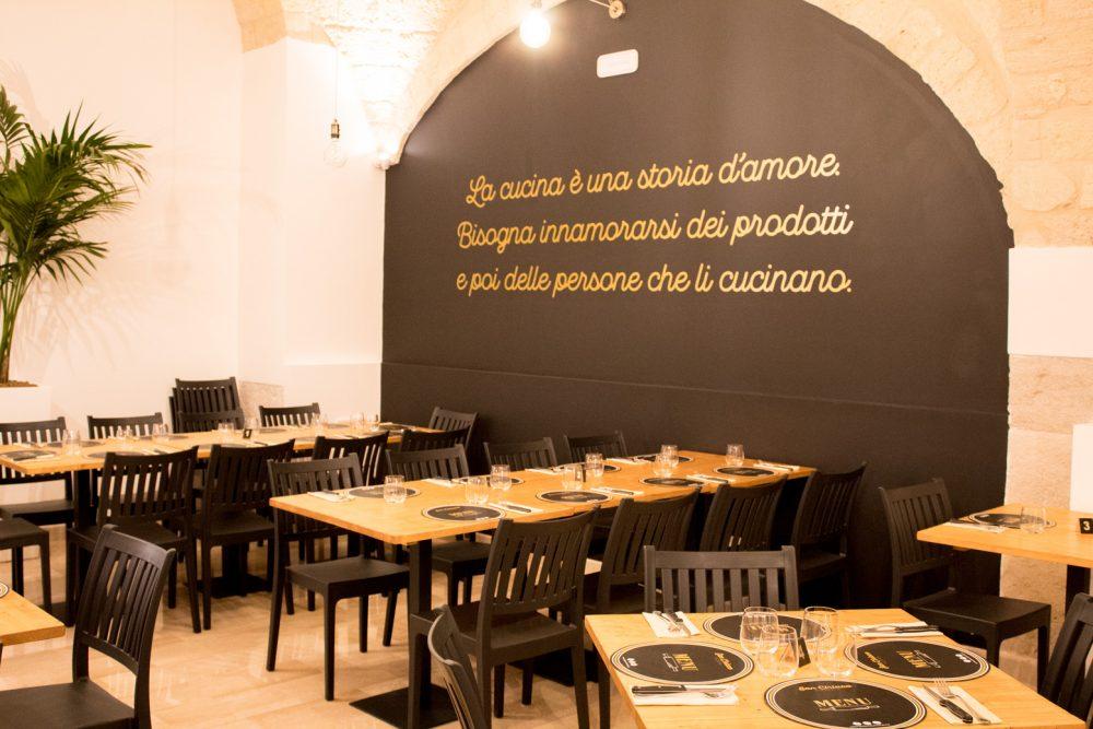 Pizzeria San Ciriaco, Interno