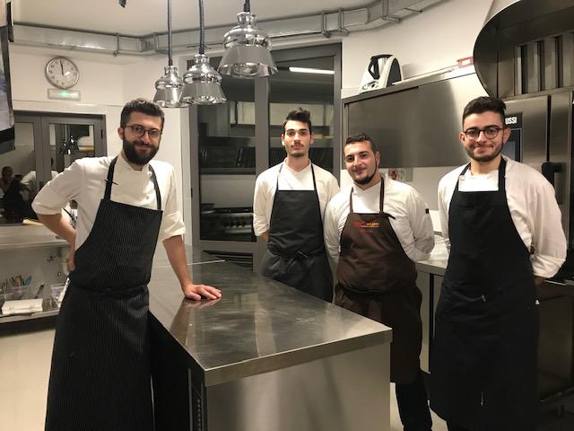 Ristorante Marotta - Chef Domenico Marotta e parte dello staff