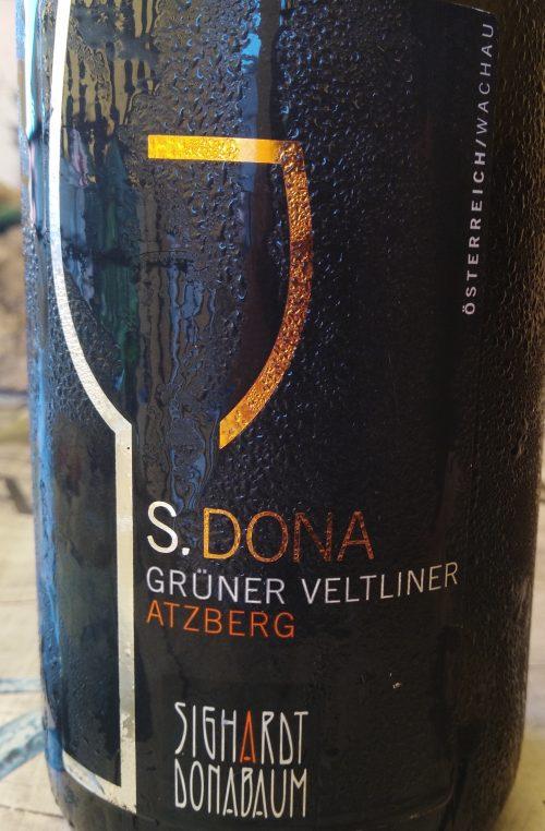 S.Dona Gruner Veltliner Atzbeg Sighardt Donabaum Grand Select 2008