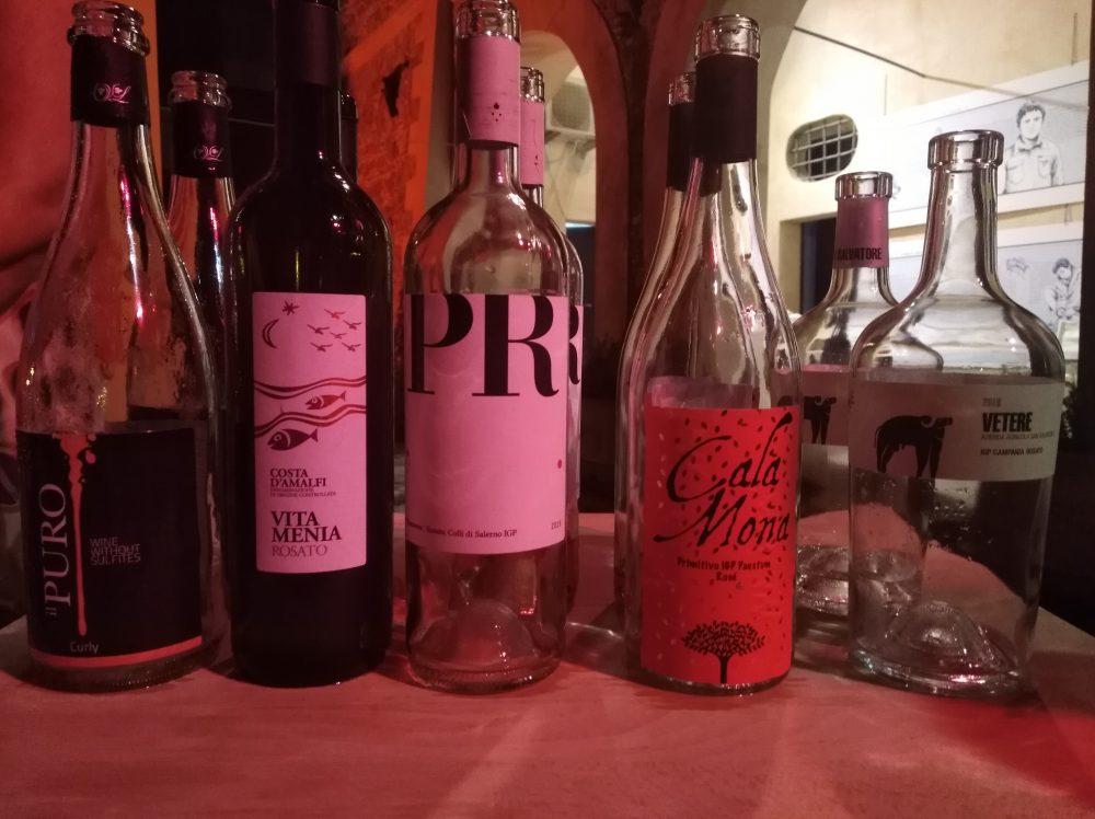 Terroir Il Mare color del Vino Bottiglie di rosato