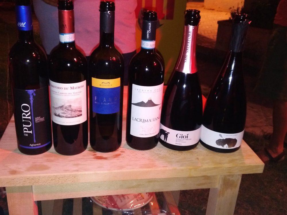 Terroir Il Mare color del Vino Etichette di vini assaggiati