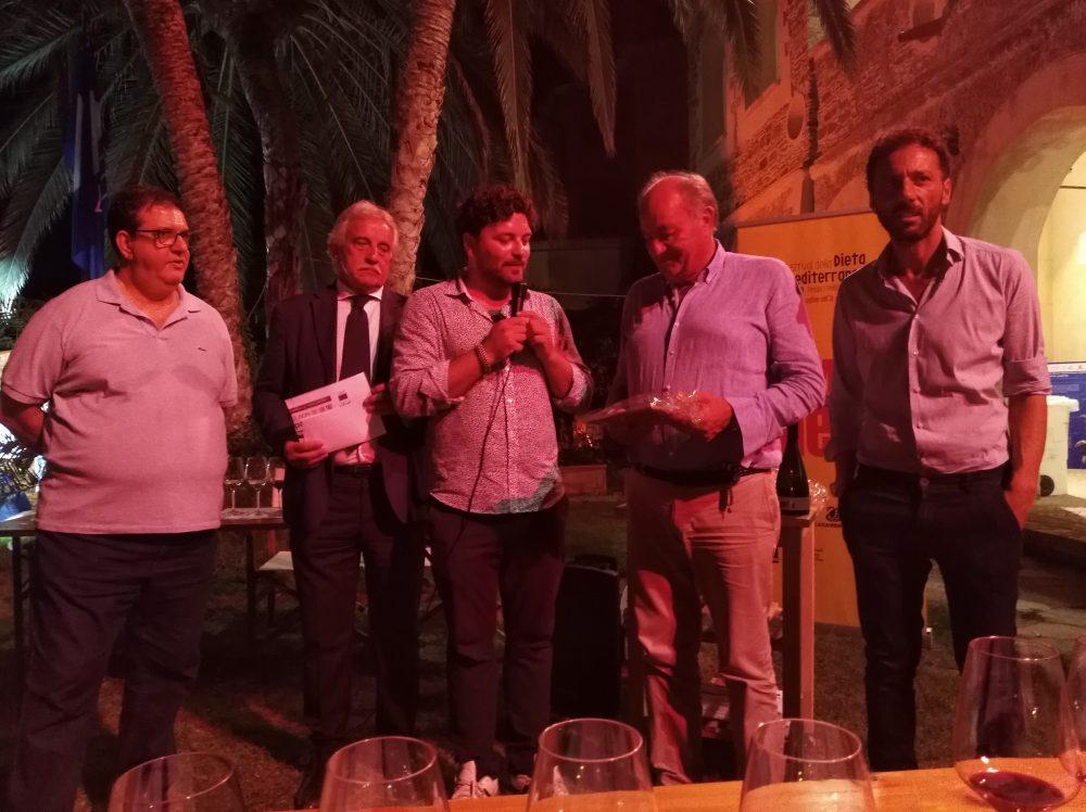 Terroir Il Mare color del Vino da sx Luciano Pignataro, Francesco Continisio, Valerio Calabrese e Peppino Pagano