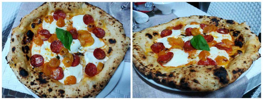 Tratto Bianco, La Mediterranea con salame piccante