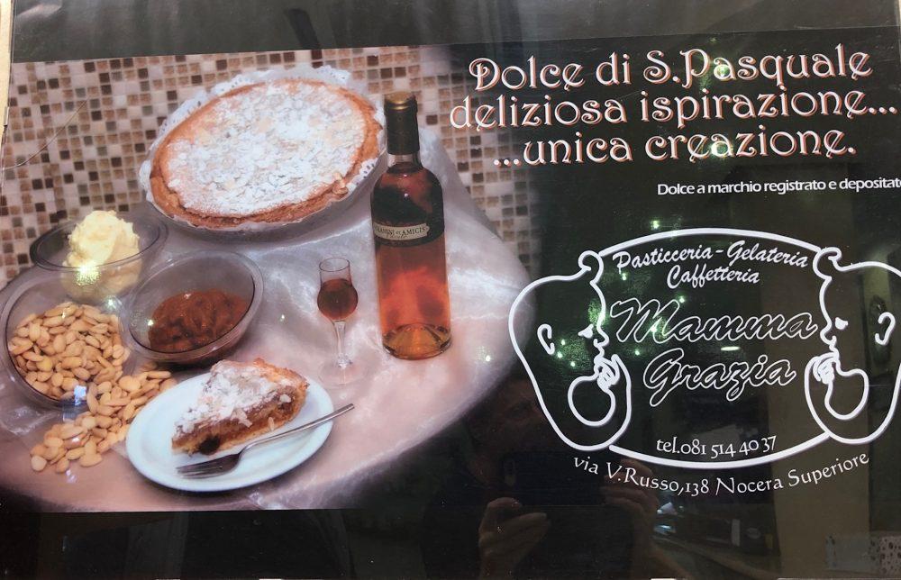 Mamma Grazia, il loro famoso dolce di S.Pasquale