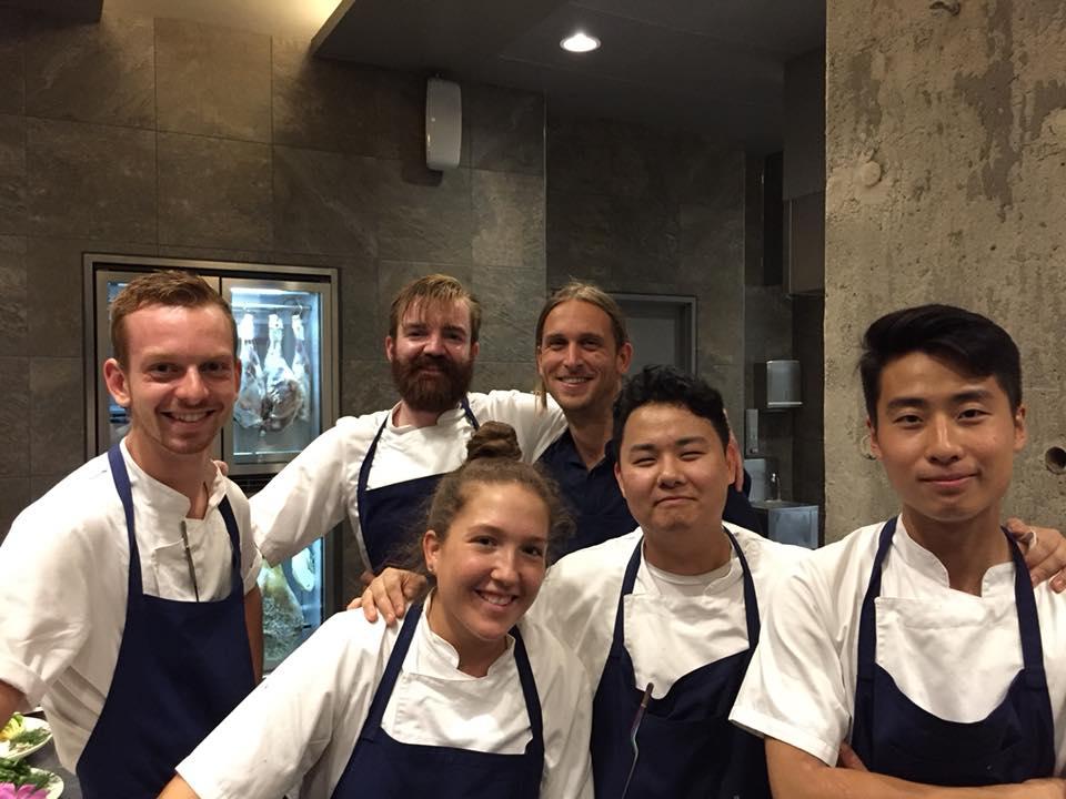 108 restaurant a Copenhagen, la squadra